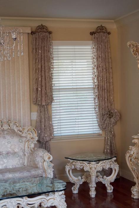 Antique Look | Draperies Design | Interior Design Antique Look | Draperies Design | Interior Design