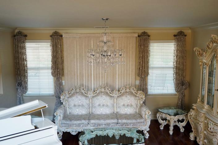 Antique Style | Draperies Design | Interior Design