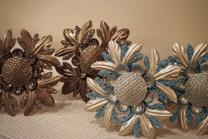 Design Metal Fixtures decorated with Swarovski Crystals